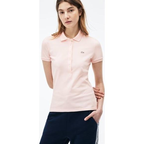 Lacoste slim fit women's polo shirt